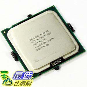 [103美國直購 ShopUSA] Intel 處理器 Core 2 Duo Processor E8500 3.16GHz 1333MHz 6MB LGA775 CPU, OEM $2235