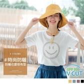 《ZB0905》防潑水抗UV可調節多色漁夫帽 OrangeBear
