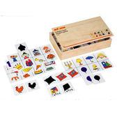 卡片分類遊戲-影子配對 兒童幼兒教具玩具道具感官判別邏輯思維互動遊戲排列拼湊
