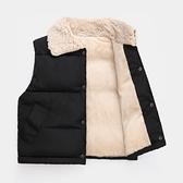 兒童馬甲 春秋冬季兒童羽絨棉馬甲外穿女童洋氣背心中小男童加厚寶寶棉馬甲 快速發貨