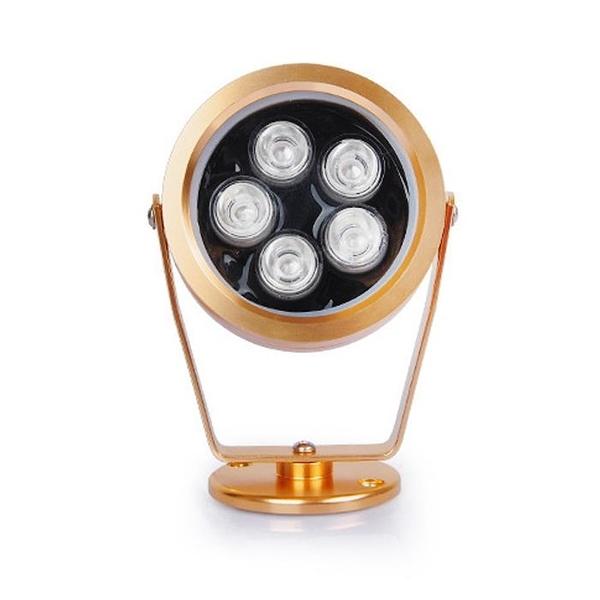 LED戶外廣告招牌投射燈七彩草坪照樹射燈3W6W5W室外門頭投光燈 樂活生活館