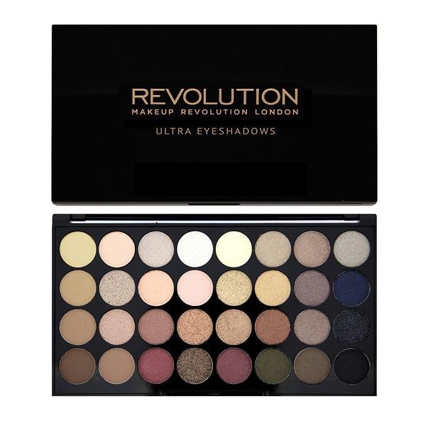 英國 Makeup Revolution Ultra 32 Shade Eyeshadow 32 色眼影盤