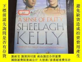 二手書博民逛書店英文原版A罕見SENSE OF DUTY SHEELAGH KE