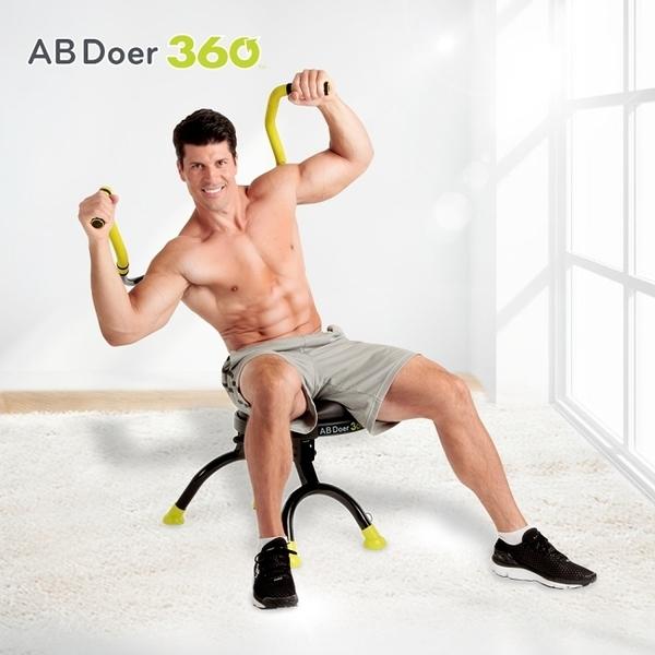美國 Ab Doer360度超能曲線健身機