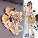 女童涼鞋2020新款夏季小公主兒童鞋時尚軟底小女孩羅馬鞋中大童潮 依夏嚴選