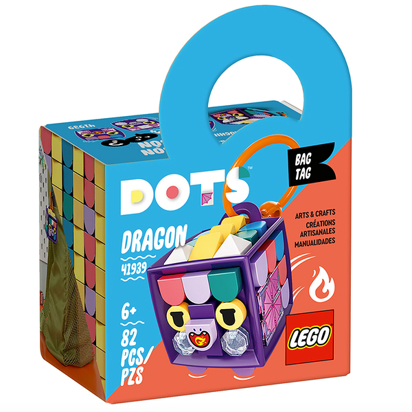 LEGO樂高 DOTS系列 Bag Tag Dragon_LG41939