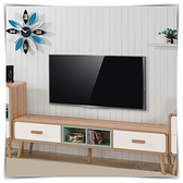 【水晶晶家具/傢俱首選】ZX1374-3豪根6尺雙抽電視櫃