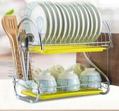 廚房置物架 晾洗瀝水碗架碗柜 餐具架 zh4012【宅男時代城】
