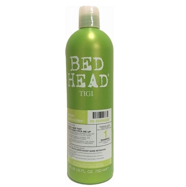 美國 Tigi Bed Head  洗髮精新活力款( Re-energize ) shampoo