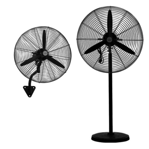 電風扇 工業電風扇大功率機械式搖頭工廠強力壁掛落地扇大風量商用牛角扇