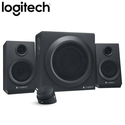 【台中平價鋪】全新 Logitech羅技  Z333 2.1聲道喇叭 音箱系統 重低音 線控
