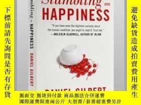二手書博民逛書店英文原版罕見撞上幸福 哈佛幸福課 Stumbling on HappinessY21066 Vintage B