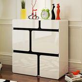 鞋櫃簡約現代烤漆門廳玄關隔斷櫃多功能經濟簡易大容量儲物櫃xw 中元節禮物