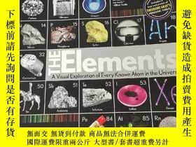 二手書博民逛書店Elements:罕見A Visual Exploration of Every Kn... (12開) 【詳見圖