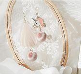 日韓春季新款銀質羽毛球球可愛耳環耳釘耳夾耳飾