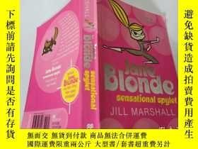 二手書博民逛書店Jane罕見Blonde sensational spylet JILL MARSHALL:簡·金發性感的斯皮爾特