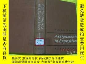二手書博民逛書店ASSIGNMENTS罕見IN EXPOSITION THIRD