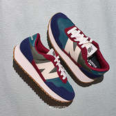 NEW BALANCE 休閒鞋 NB 237 復古彩色 麂皮 女 (布魯克林) WS237MA1