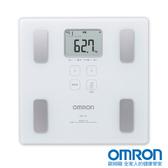 OMRON 歐姆龍 HBF-217 體重體脂計 白色 (HBF-214 升級版) 送樂美雅強化玻璃盤組(22CM+19CM)