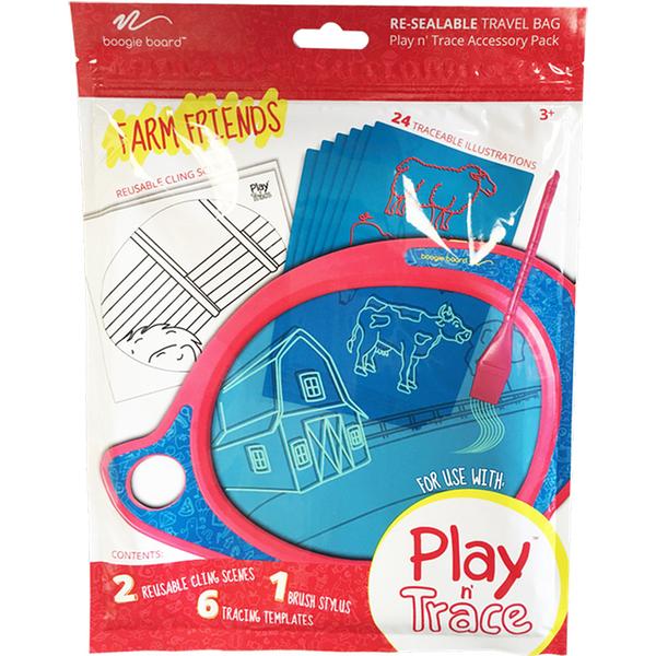 美國Boogie Board Play n Trace兒童繪畫板電子透明描寫板-塗鴉卡