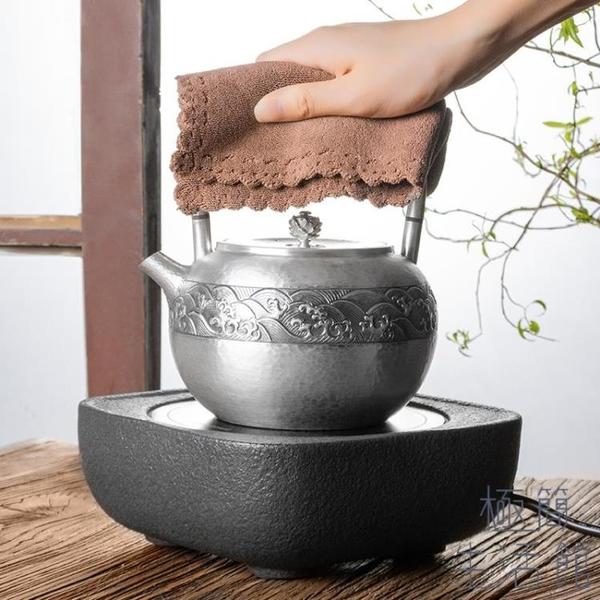 【兩條裝】茶巾茶布吸水加厚禪意茶幾抹布茶道印花【極簡生活】