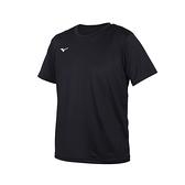 MIZUNO 男短袖T恤(免運 吸濕排汗 抗UV 咖啡紗 台灣製 慢跑 美津濃≡體院≡ 32TA150709