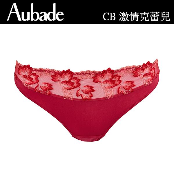 Aubade-激情克蕾兒D蕾絲有襯內衣(櫻桃紅)CB