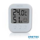【日本DRETEC】電子式五臉型溫溼度計...