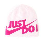 Nike Just Do 粉紅 桃紅 線條 雙面戴造型毛帽 男女可戴 NSW系列 冬天保暖必備 851472-632