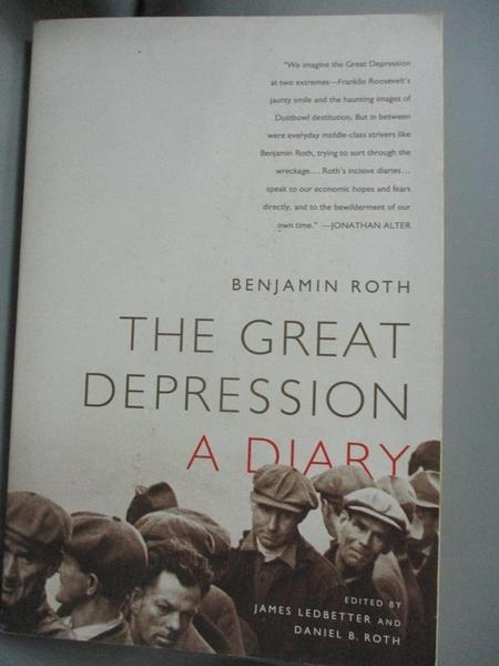 【書寶二手書T1/原文小說_WDH】The Great Depression: A Diary_Roth, Benjamin