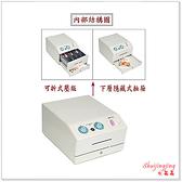 【水晶晶家具/傢俱首選】YT118-15 雙層905色可攜式收銀箱