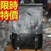 後背包-好搭韓風高貴皮革情侶款-雙肩包-3款59ab36[巴黎精品]