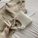 特賣 法國小眾包包女新款潮網紅奶茶色腋下包高級感復古斜挎法棍包