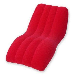 S型形躺椅