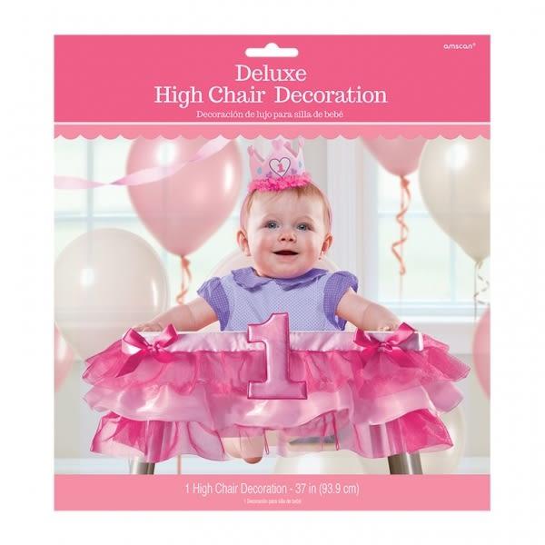 嬰兒餐椅裝飾-蓬蓬裙