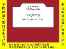 二手書博民逛書店Complexity罕見And InformationY256260 J. F. Traub Cambridg