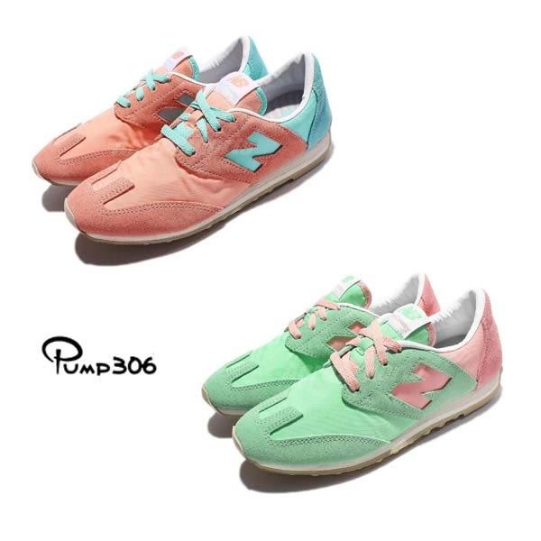【五折特賣】New Balance 復古慢跑鞋 粉紅/粉綠 麂皮 粉色系 兩色任選 運動鞋 女鞋【PUMP306】