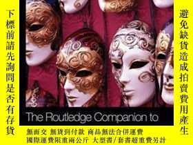 二手書博民逛書店The罕見Routledge Companion To Identity And ConsumptionY38