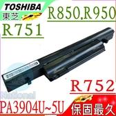 TOSHIBA 電池(保固最久)-東芝 R950電池,R950-SMNBX1,R751電池,R752電池,R752/F,PA3904U-1BRS,PA3905U-1BRS