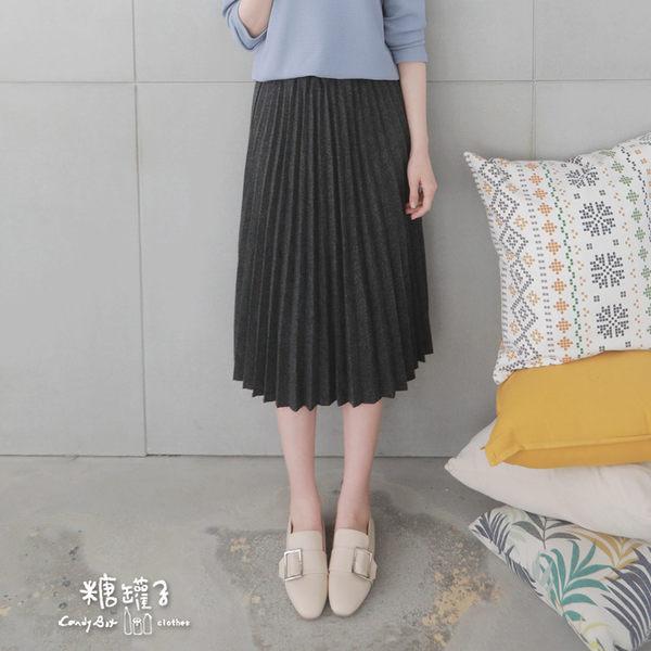 【五折價$399】糖罐子百摺造型混色縮腰長裙→預購【SS1778】