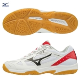 MIZUNO SKY BLASTER 男鞋 女鞋 羽球 手球 基本款 一般 橡膠 耐磨 白 橘【運動世界】71GA194563