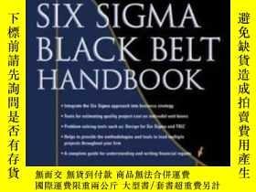 二手書博民逛書店The罕見Six Sigma Black Belt Handbo