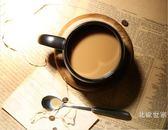 【中秋特惠】歐式咖啡廳磨砂馬克杯帶勺 黑色咖啡杯配底座創意簡約陶瓷水杯子