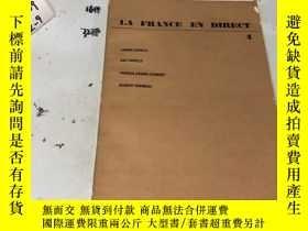 二手書博民逛書店法文原版:LA罕見FRANCE EN DIRECT 4Y182979 LA FRANCE EN DIRECT