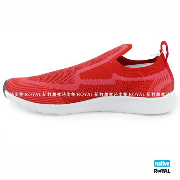 Native 新竹皇家 APOLLO 紅色 織布 輕量 男女款 NO.A9043
