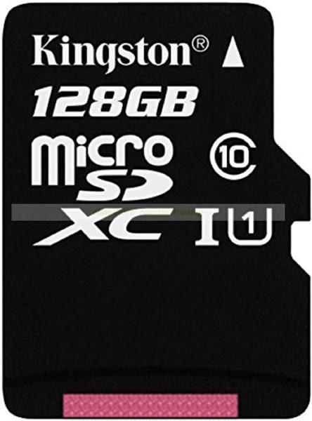 金士頓 Mircro SD記憶卡 128G