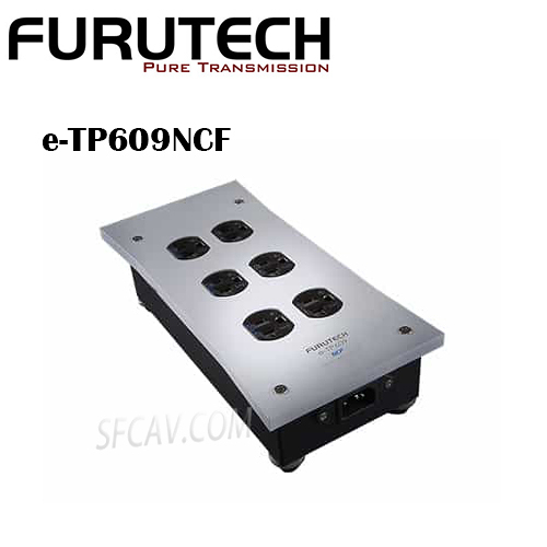 【竹北勝豐群音響】Furutech    e-TP609NCF  Power Distributor 電源排插