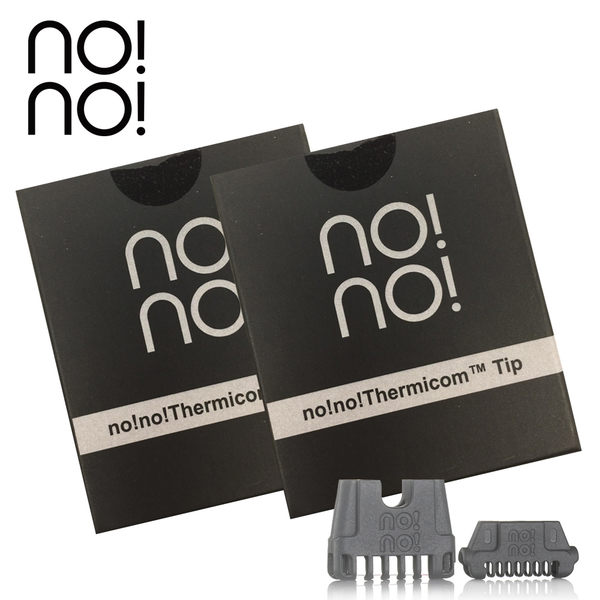no!no! 藍光熱力刀頭組(窄刀頭x1+寬刀頭x1)另售藍光熱力除毛儀