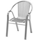 餐椅 FB-380-7 不鏽鋼圓背有扶手...