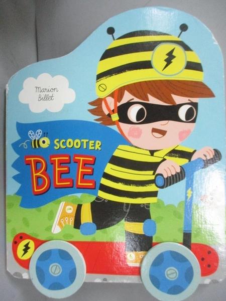 【書寶二手書T9/少年童書_ECI】Scooter Bee_Marion Billet